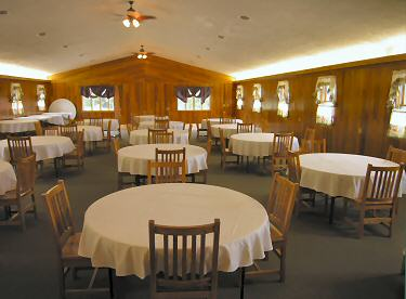 Inside Highlands Hall Banquet Center